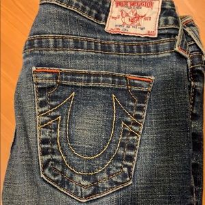 True religion jeans skinny/small flare